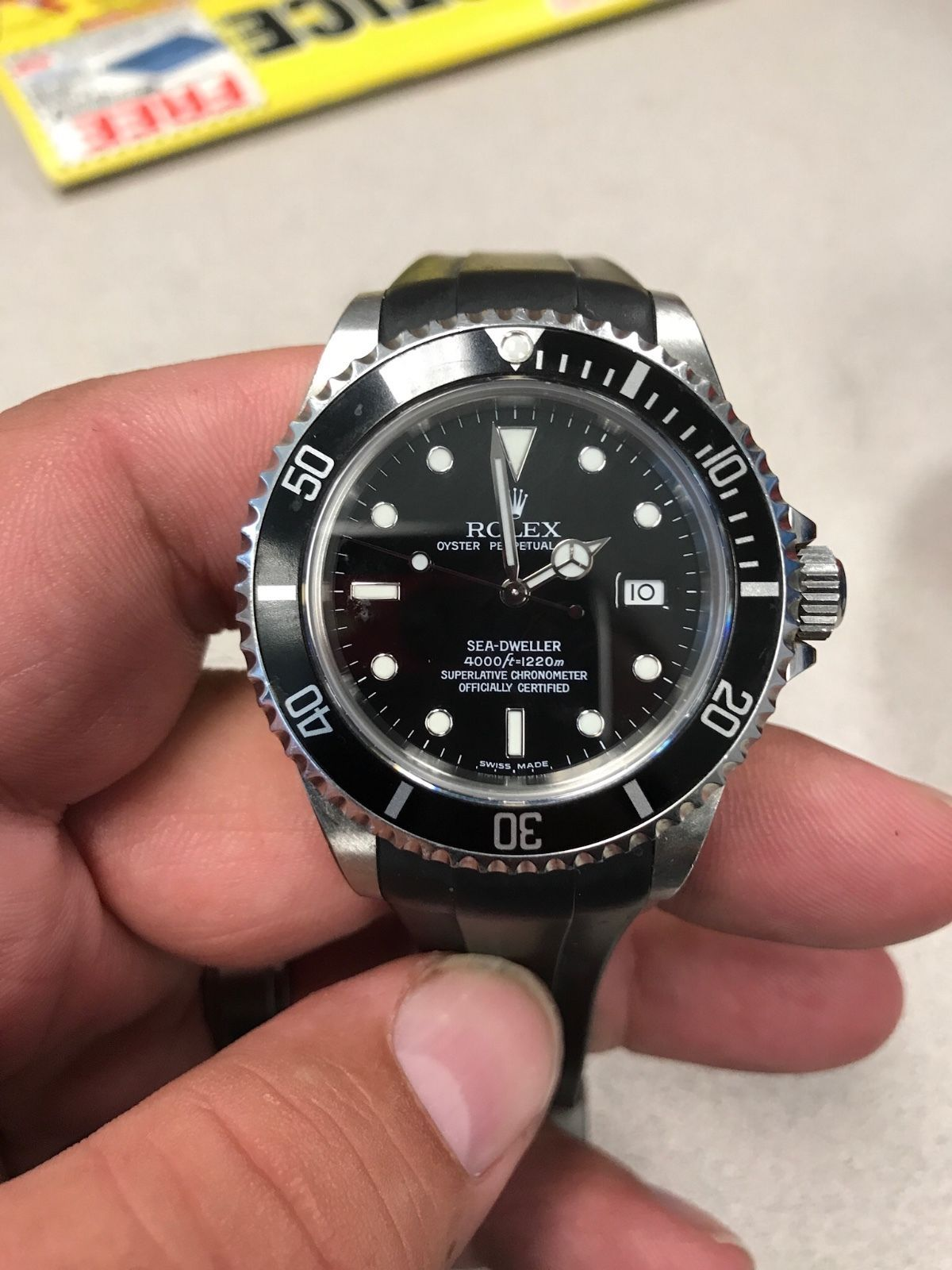 Forsale Rolex Sea Dweller Box Papers Appraisal And More Auction 5 100 00