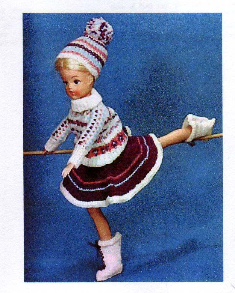 Vintage Sindy Knitting Pattern Barbie Fashions Pinterest