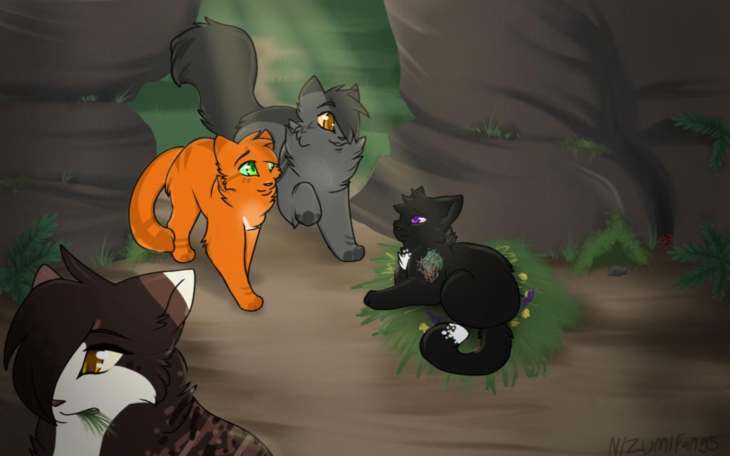 коты воители картинки всем привет эротического