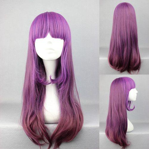 60cm x Long Charm Lolita Purple Anime Cosplay Wig COS 274AA | eBay | $24.99 + s