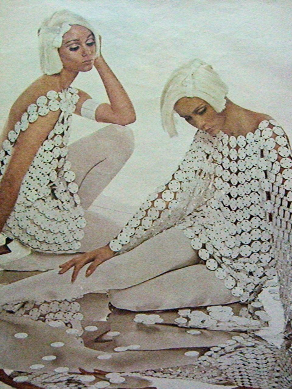 Cathee Dahmen (in front) for Harper's Bazaar 1967