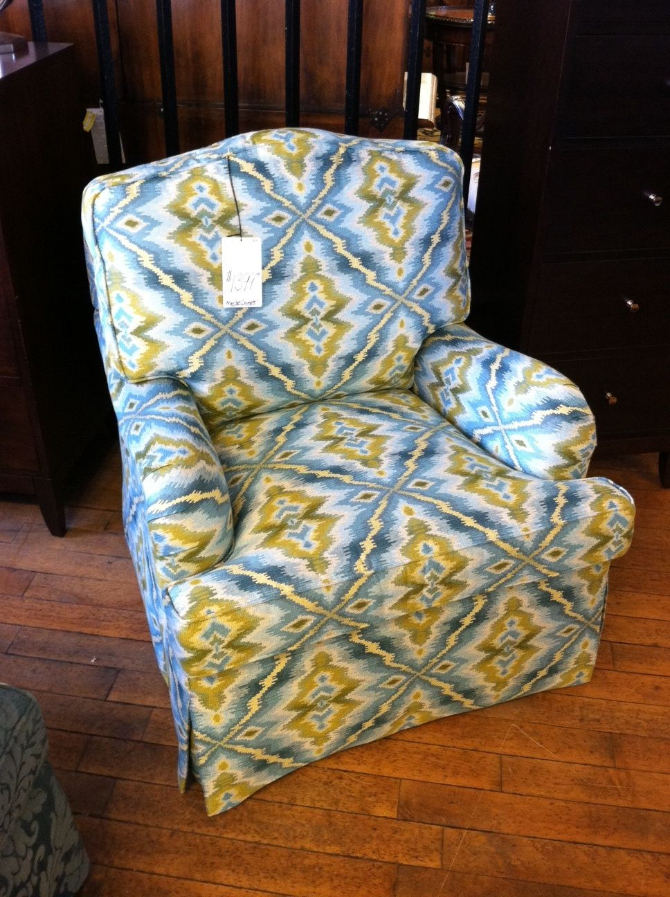 Farmville 1211 wingback chair home living room