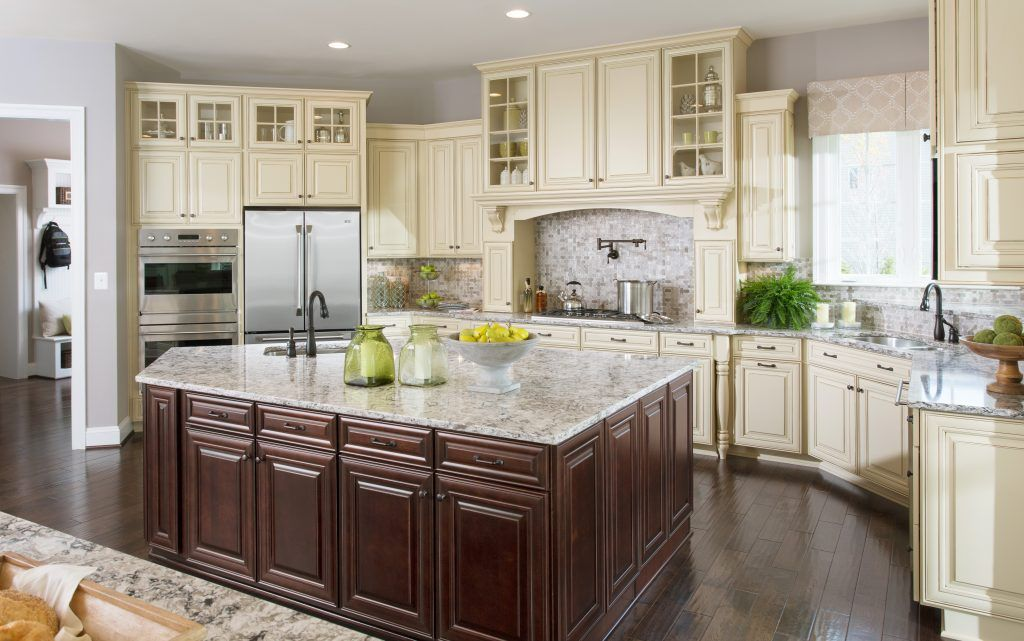 Awesome Rushmore Painted Hazelnut Cabinets From 84 Design Studios! | Kitchen Cabinet  Inspiration | Pinterest | Kitchen Cabinet Inspiration, Cabinet Inspiration  And ...