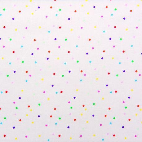 Rico Design jersey fabric Confetti - multicolor x 10cm