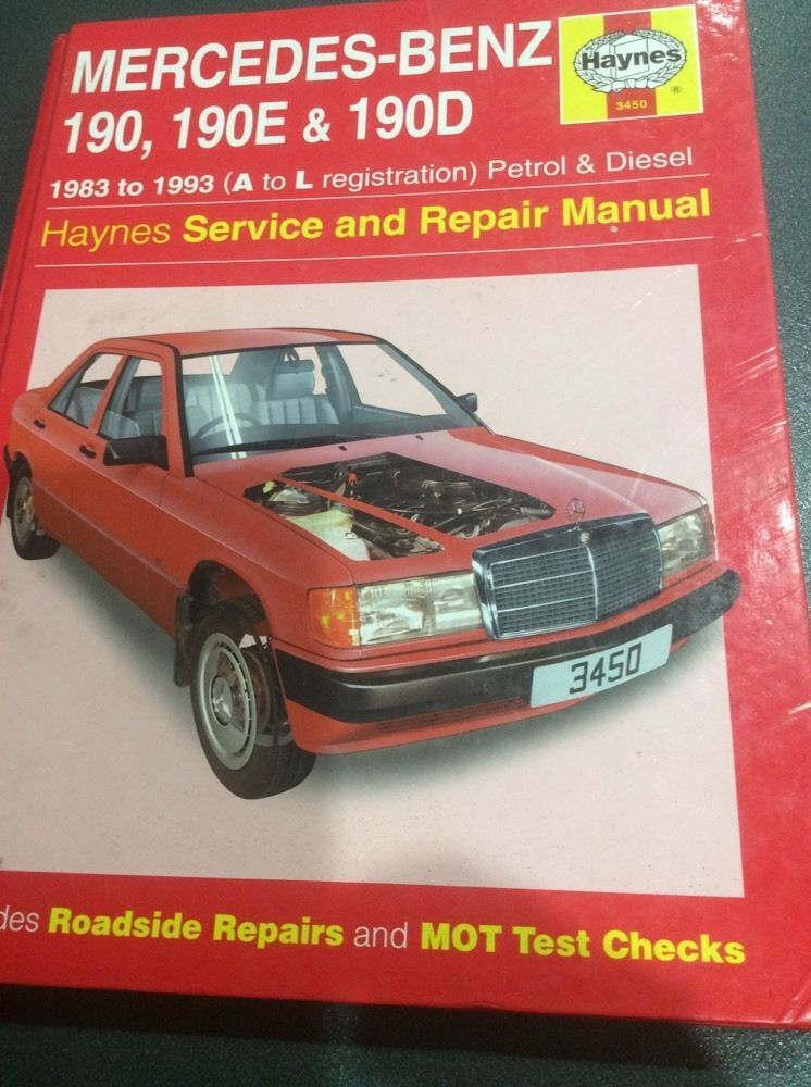 haynes mercedes benz 190 190e 190d service repair manual series used rh pinterest com mercedes 190e service manual pdf mercedes 190e service manual pdf