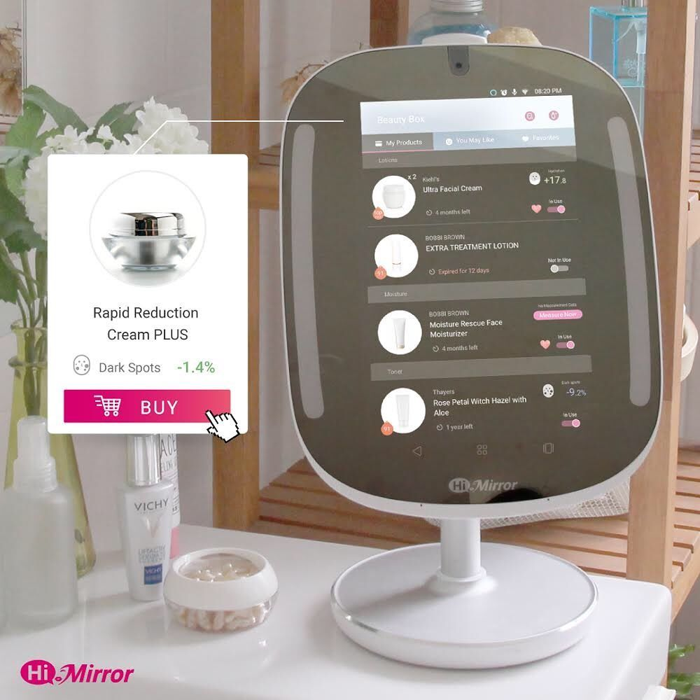 Virtual Hairstyle For Your Face: Let Himirror Mini Personalized Your Beauty Routine For You