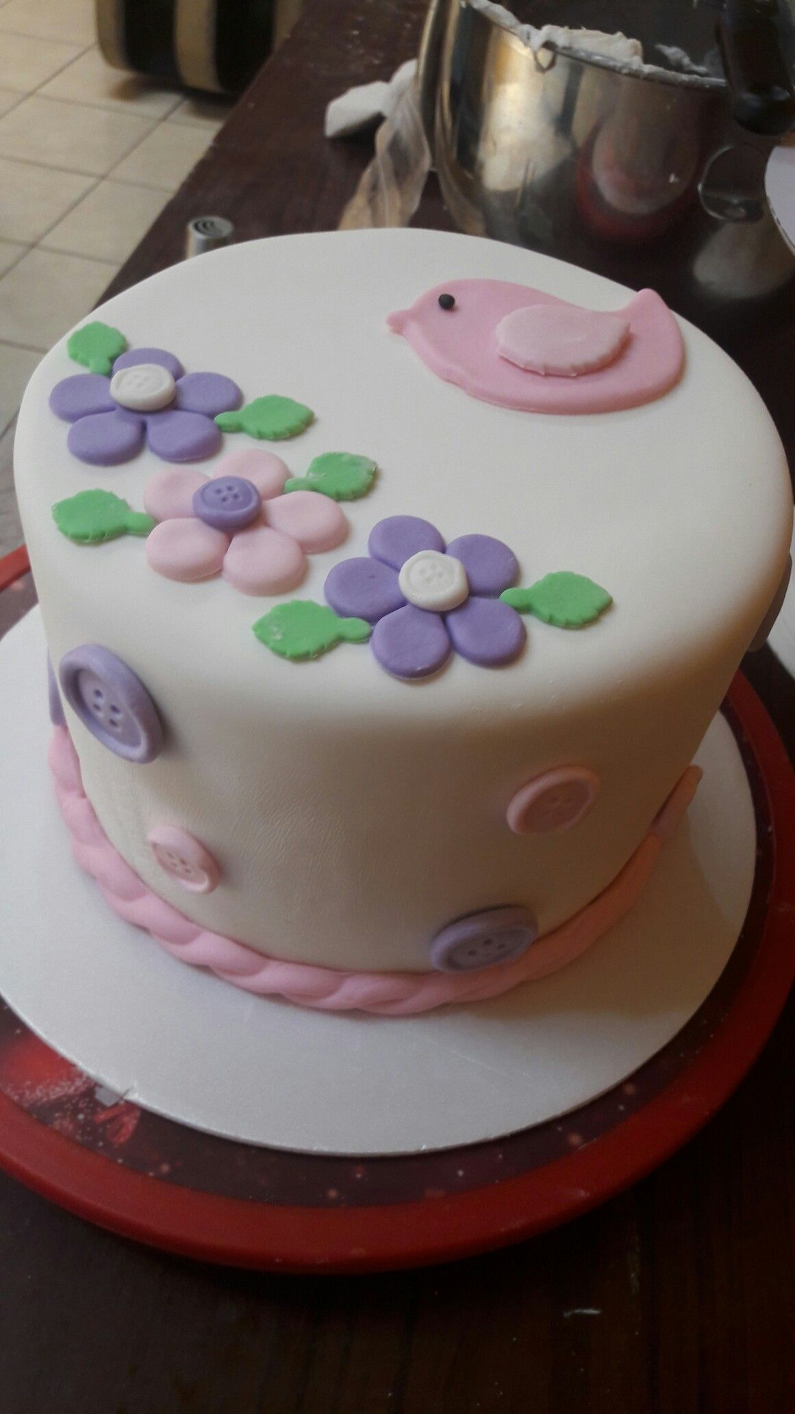 Vainilla Relleno De Manzana Desserts Cake Birthday Cake