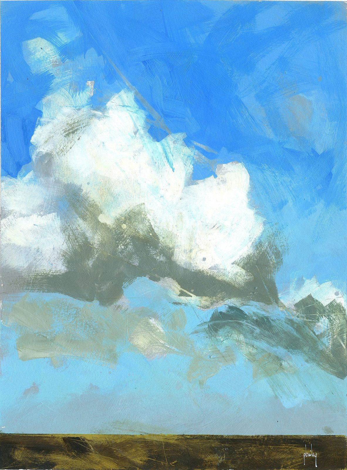High Above By Paul Bailey Via Flickr Cloud Painting Landscape Paintings Painting