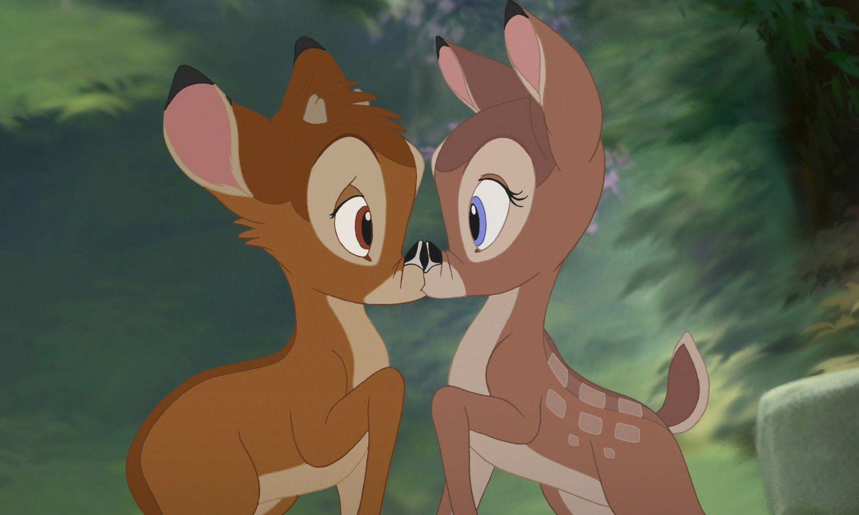 Bambi disney kiss bambi disney disney animation