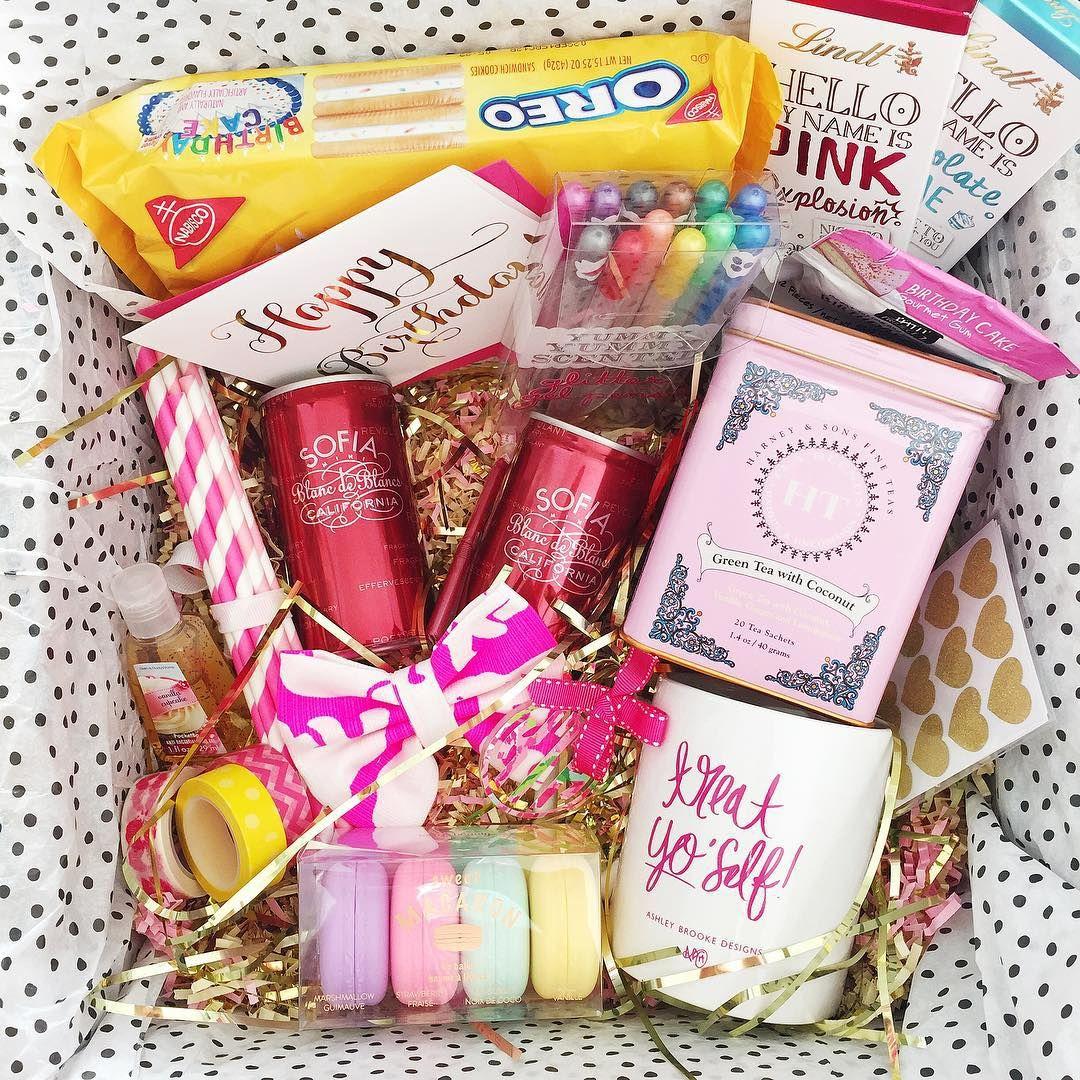 Kasia Dabrowski On Instagram Early Birthday Package For Kelind Anne Birthdaypackage Iloveabd F Bff Birthday Gift Birthday Packages Birthday Gift Baskets