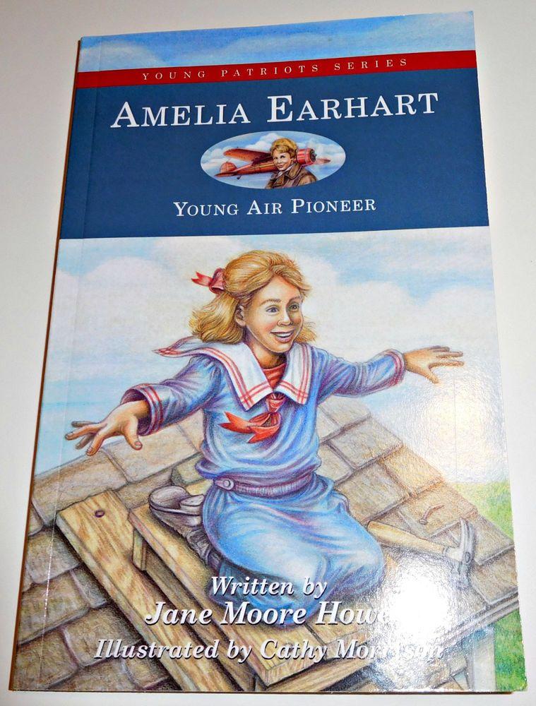 Amelia earhart young air pioneer jane moore howe heart of