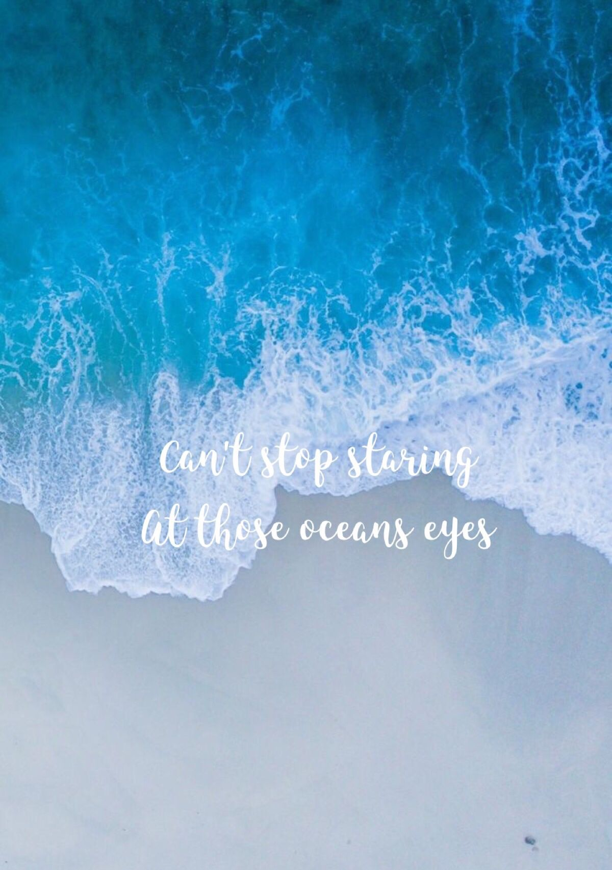 Billie Eilish Ocean Eyes, Blue Quotes, Eyes