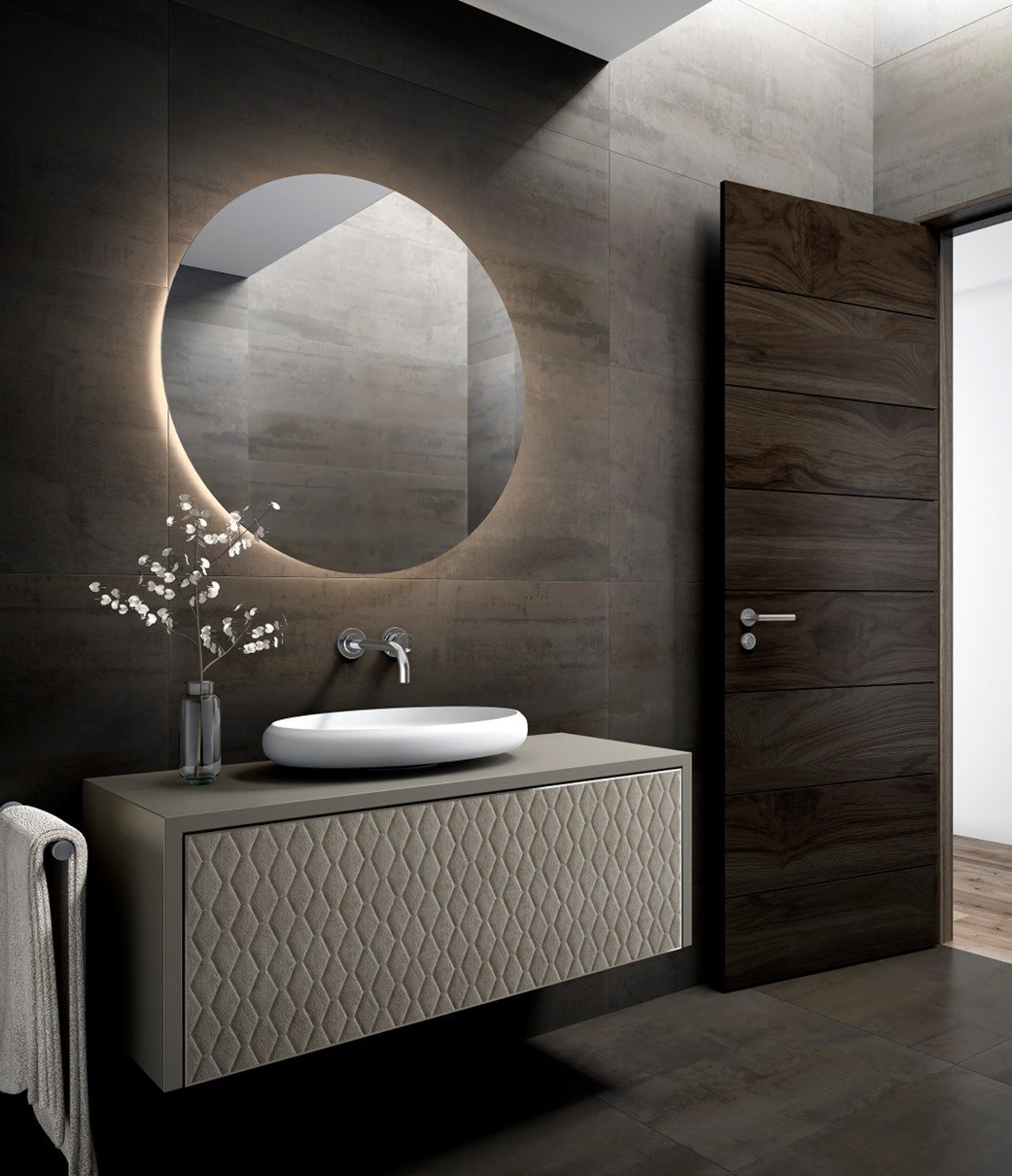 Bath Creations: AURIGA Bath Cabinet. Luxury Bath Creations By Colección