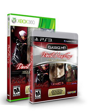 Awesome! Capcom is releasing the Devil May Cry HD Collection for PS3 and Xbox on 4/3/2012!