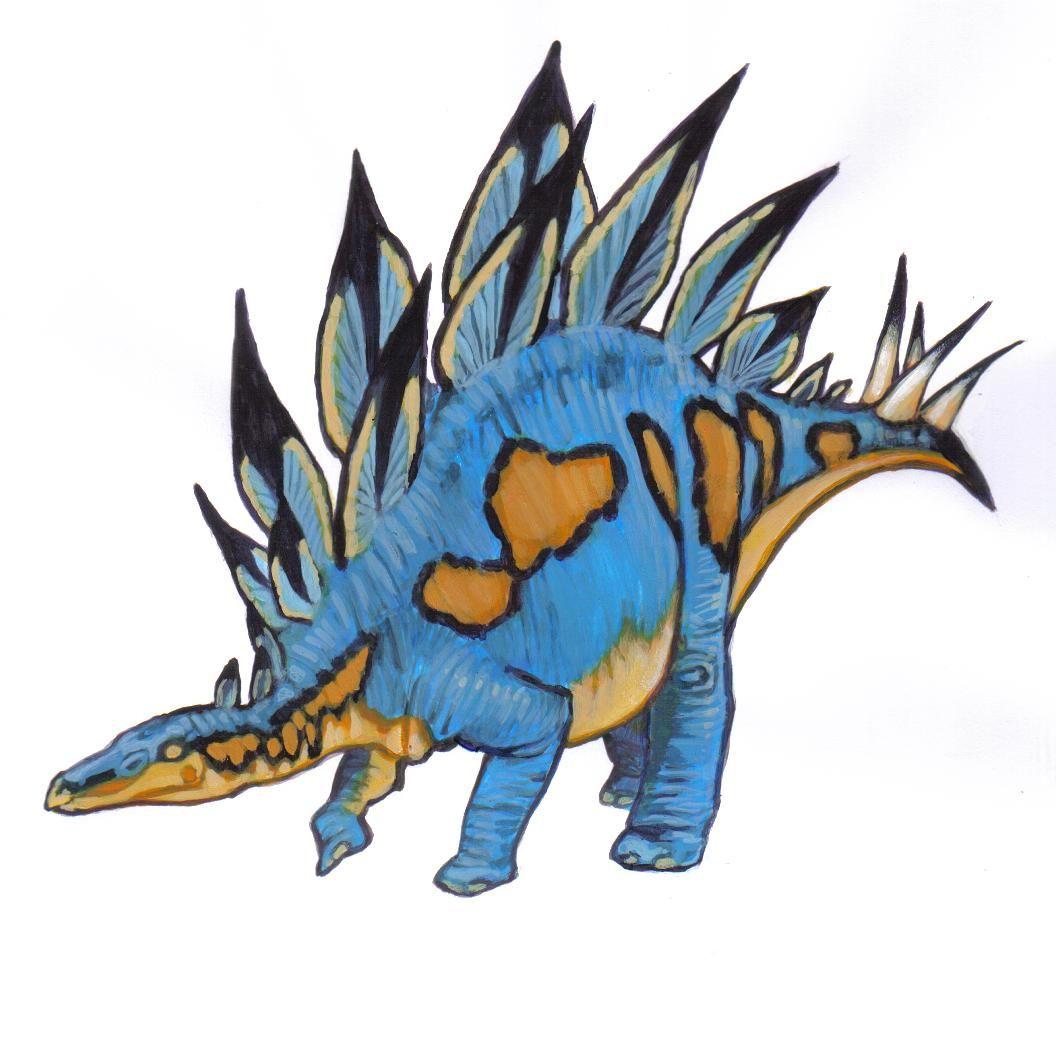 A cool Stegosaurus for lolita