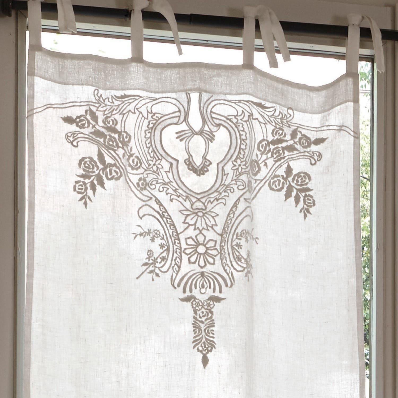 Scheibengardine Gardonne Loberon Scheibengardine Gardinen Textilien