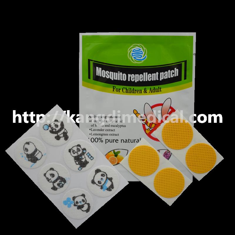 100 Natural Citronella Oil Mosquito Repellent Patch Anti Mosquito