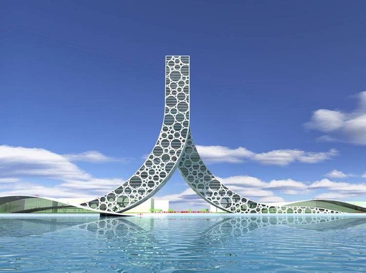Simple Futuristic Concepts Ideas For Architecture Buildings Design