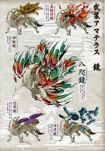 Clover Studio Okami Official Illustration Collection Artbook