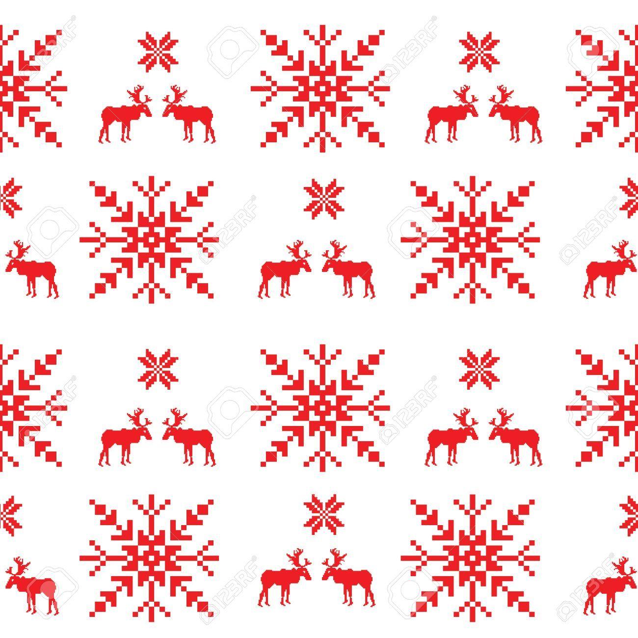 Vector Scandinavian Seamless Pattern Scandinavian Quilts Cross Stitch Patterns Free Scandinavian Pattern