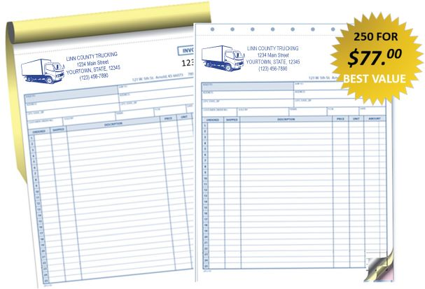 Trucking #Invoices Upload-Price Your Design Or Sample Or - sample plumbing invoices