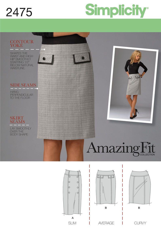 Sewing Pattern Skirt | sewing/not sewing ☆ | Pinterest | Faldas ...