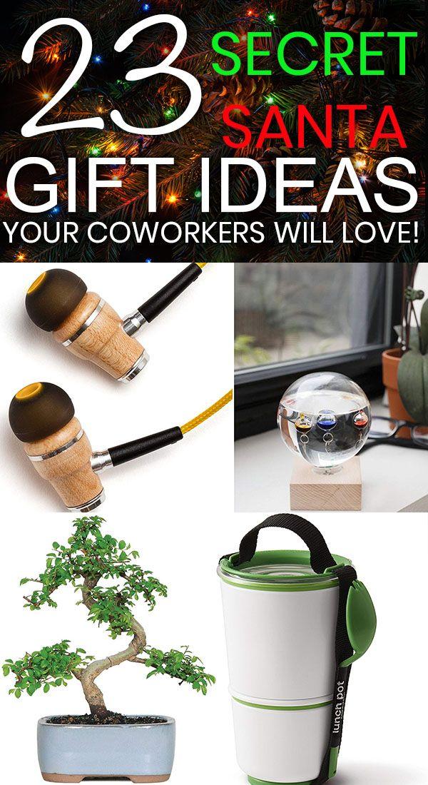 23 Clever Secret Santa Gift Ideas for Cheap!!