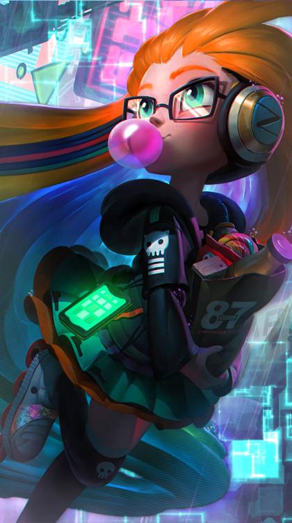Cyberpop Zoe [No text] by ShadowfreakxD em 2019 Imagem