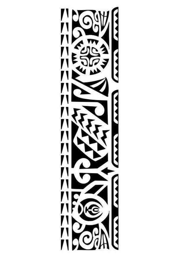 Pin De Rodrigo Cunha Em Tattoo Faixa Maori Tatuagens Maori