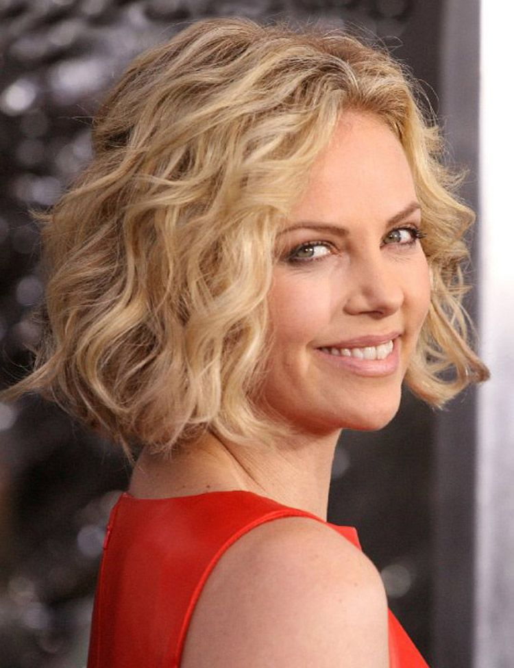 Medium layered curly hairstyles pictures hairstyles and colors blunt bob with long layers great for fine wavy hair like charlize long bob hairstyles for fine hair winobraniefo Image collections