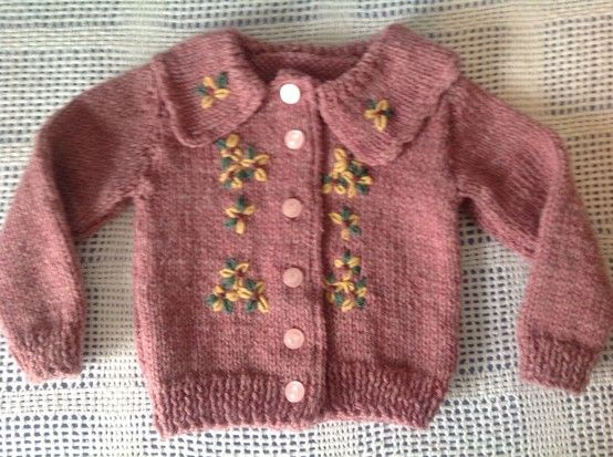 Retro sweater knit for Lillian