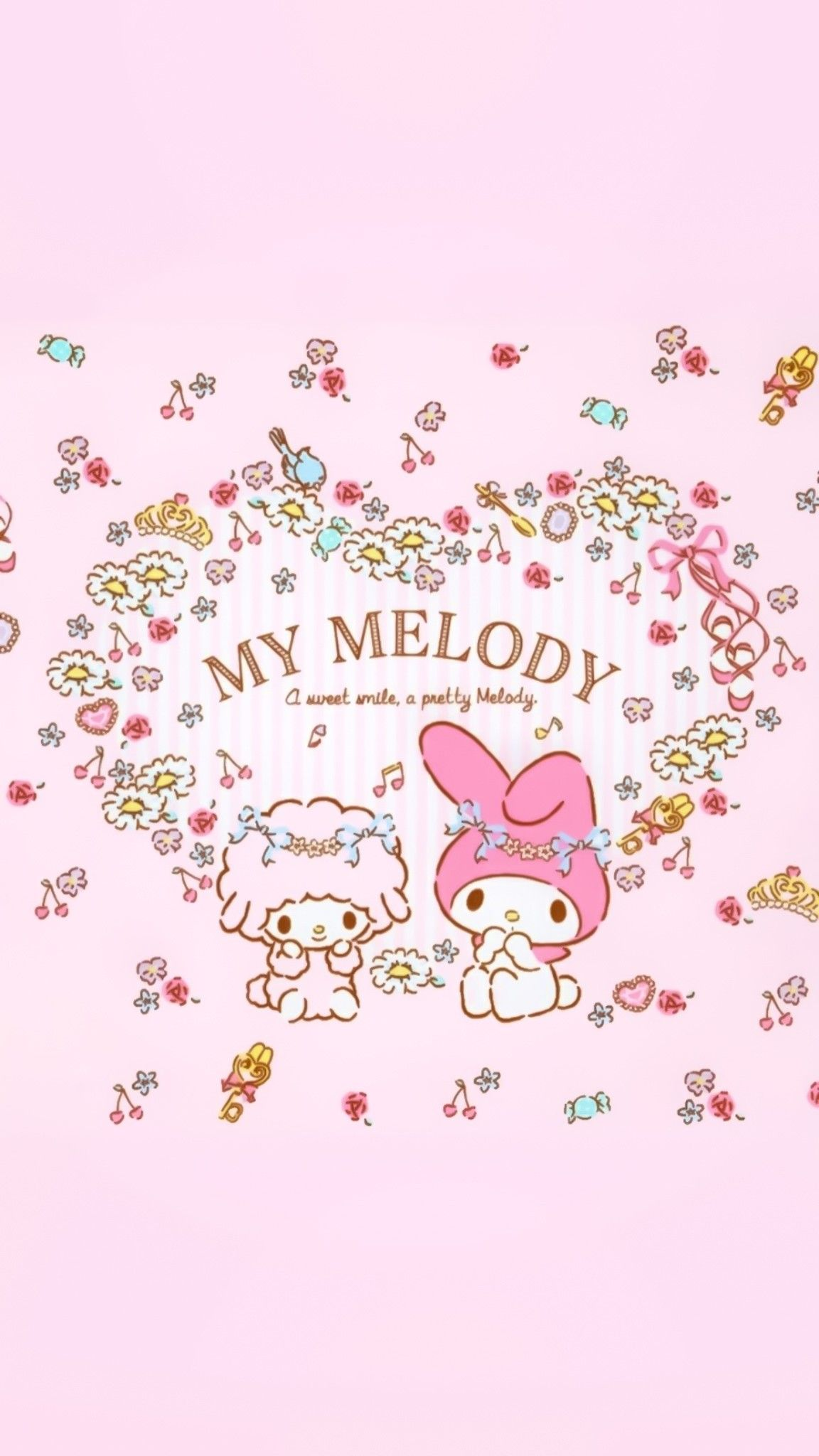 Pin By Sam On Wallpapers In 2020 My Melody Sanrio Wallpaper