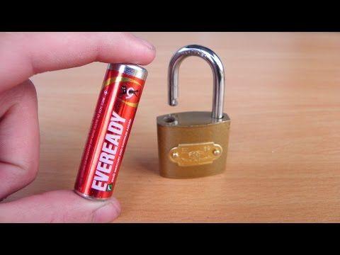 2 Ways To Open A Lock Life Hacks Youtube Life Hacks Youtube Hacks Household Hacks