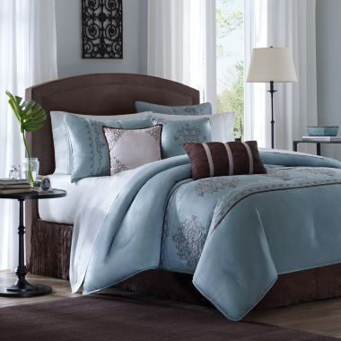 Madison Park Brussell 7 Pc Comforter Set Found At Jcpenney With