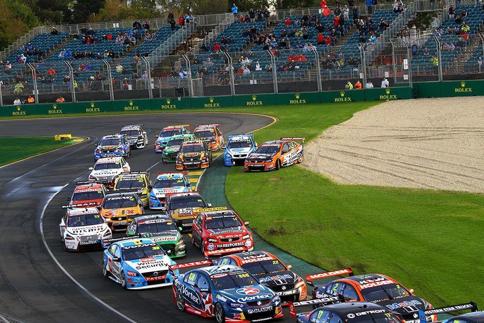 Melbourne Grand Prix Australian v8 supercars, V8