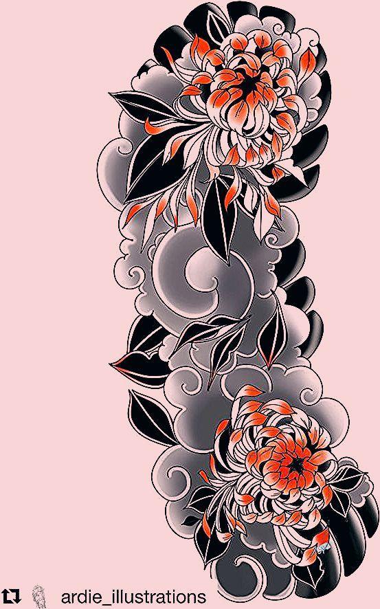 Pin De Marcos Martinez En Dibujos Flores Japonesas Tatuajes Tatuajes Japoneses Tatuajes Japoneses Brazo