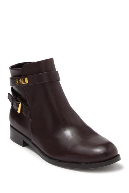 Ralph Lauren | Borgia Leather Ankle Bootie #nordstromrack