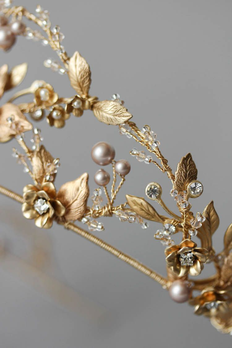 Fit for a queen in u deadem u pinterest gold wedding