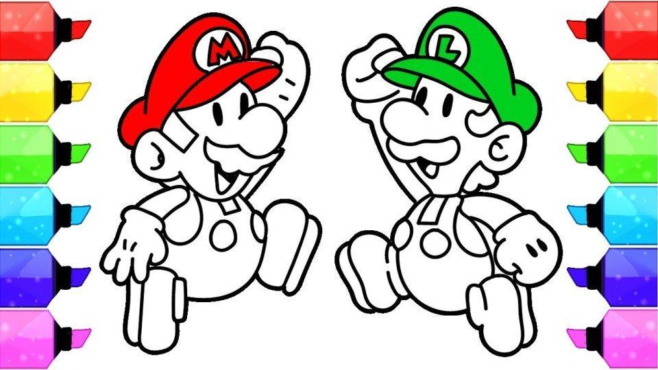Mario Coloring Pages Super Mario Coloring Pages Nintendo