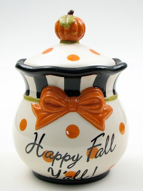 "Cookie Jar Bg Board From 2Nd Pinterest Account ""autumn""  Happy Fall Cookie Jar"