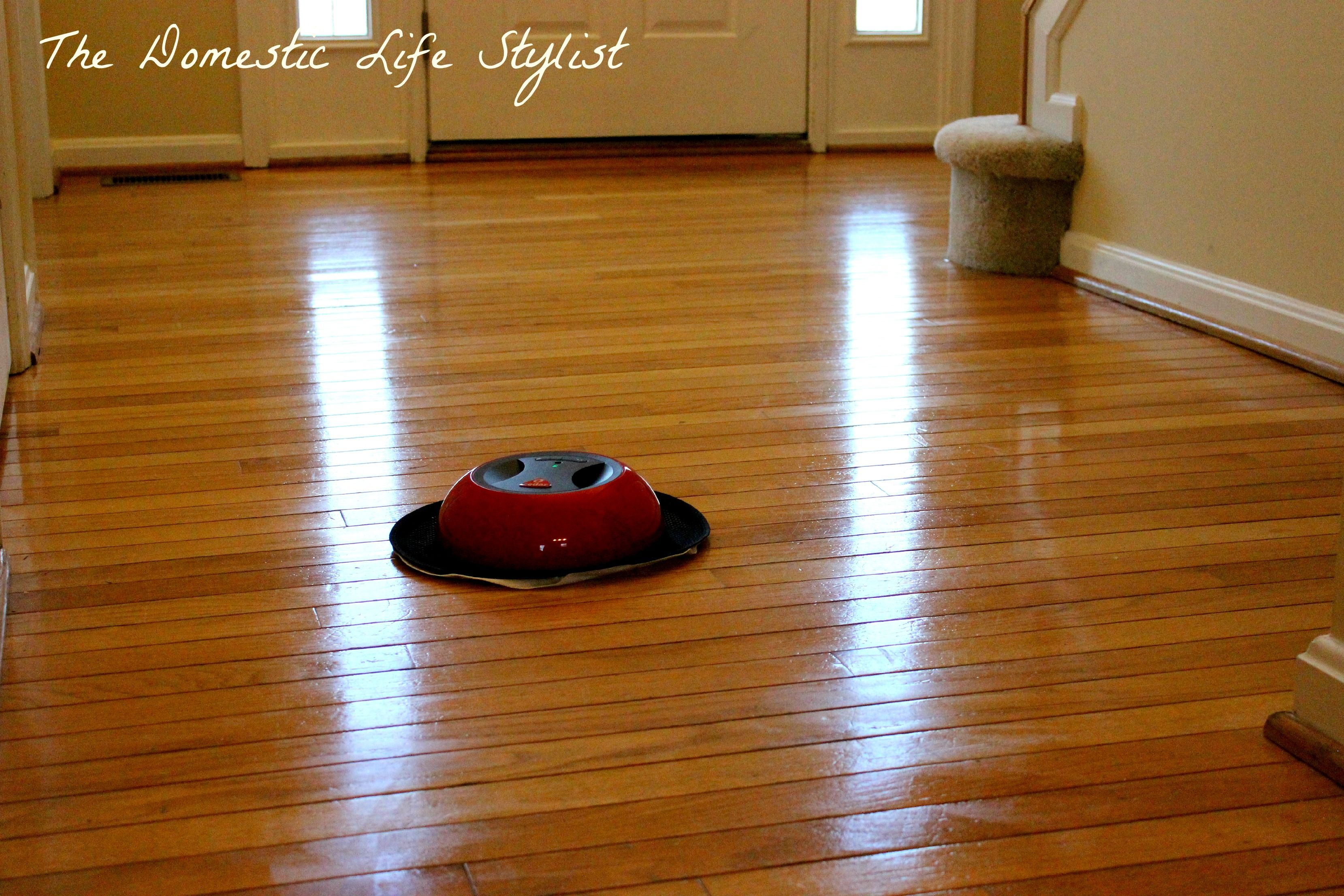 How To Clean Hardwood Floor With O Duster #cleaning #dusting #robotic #