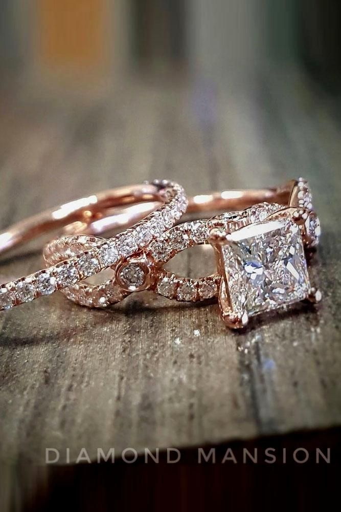 Unforgettable Princess Cut Engagement Rings To Get Her Heart