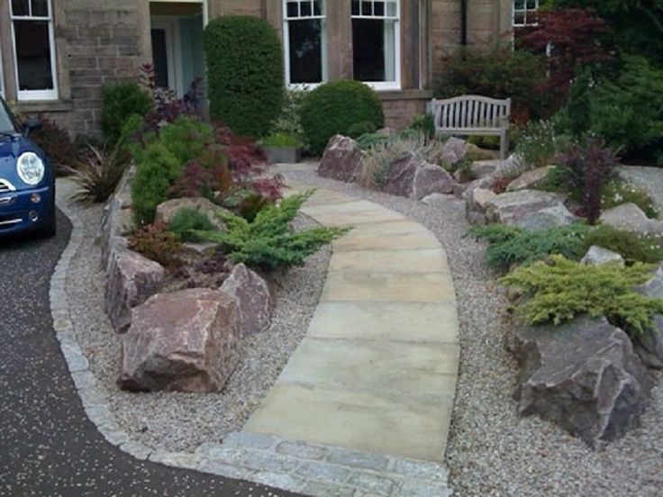 Image result for using large rocks in landscaping pics for Large landscaping stones