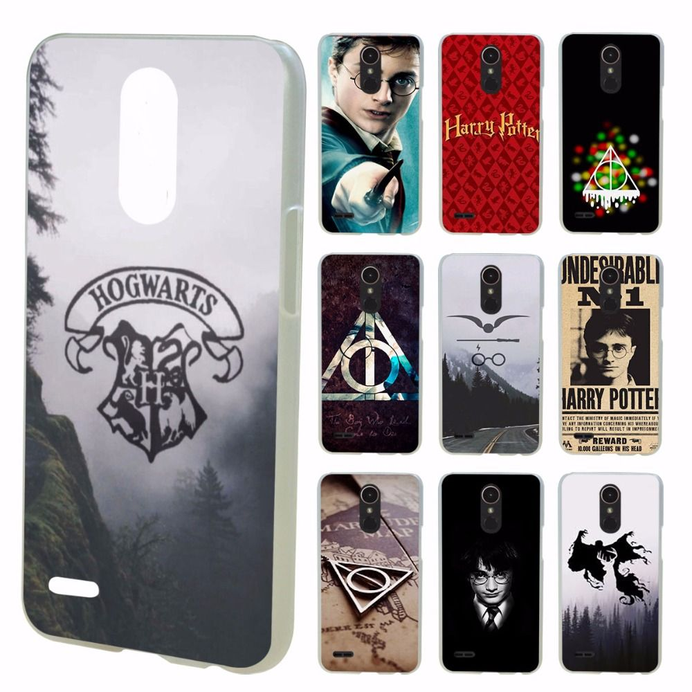 pretty nice 3e262 b8cae harry potter design transparent clear hard case cover for LG G3 G4 ...
