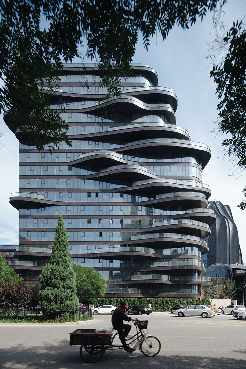 MAD architects\' chaoyang park plaza nears completion in beijing ...