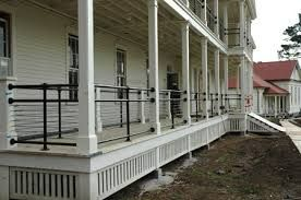 Image Result For Modern Front Porch Railing Porch Railing Front Porch Railings Bungalow Exterior