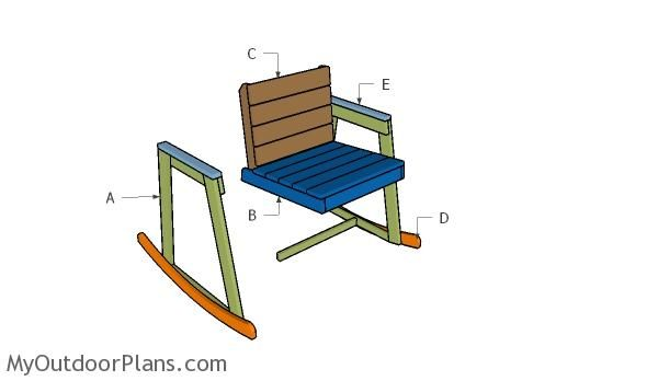 Cool Rocking Chair Plans Myoutdoorplans Free Woodworking Pdpeps Interior Chair Design Pdpepsorg