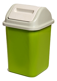 سطل قمامة صغير Small Bucket Compost Bin Plastic Items Compost