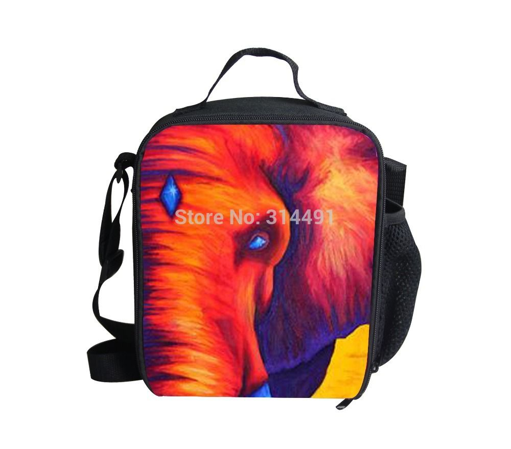 5cf2dbff2219 FORUDESIGNS free shipping animal lunch bags kids school lunch box 3d  elephant lunchbox thermal insulate child
