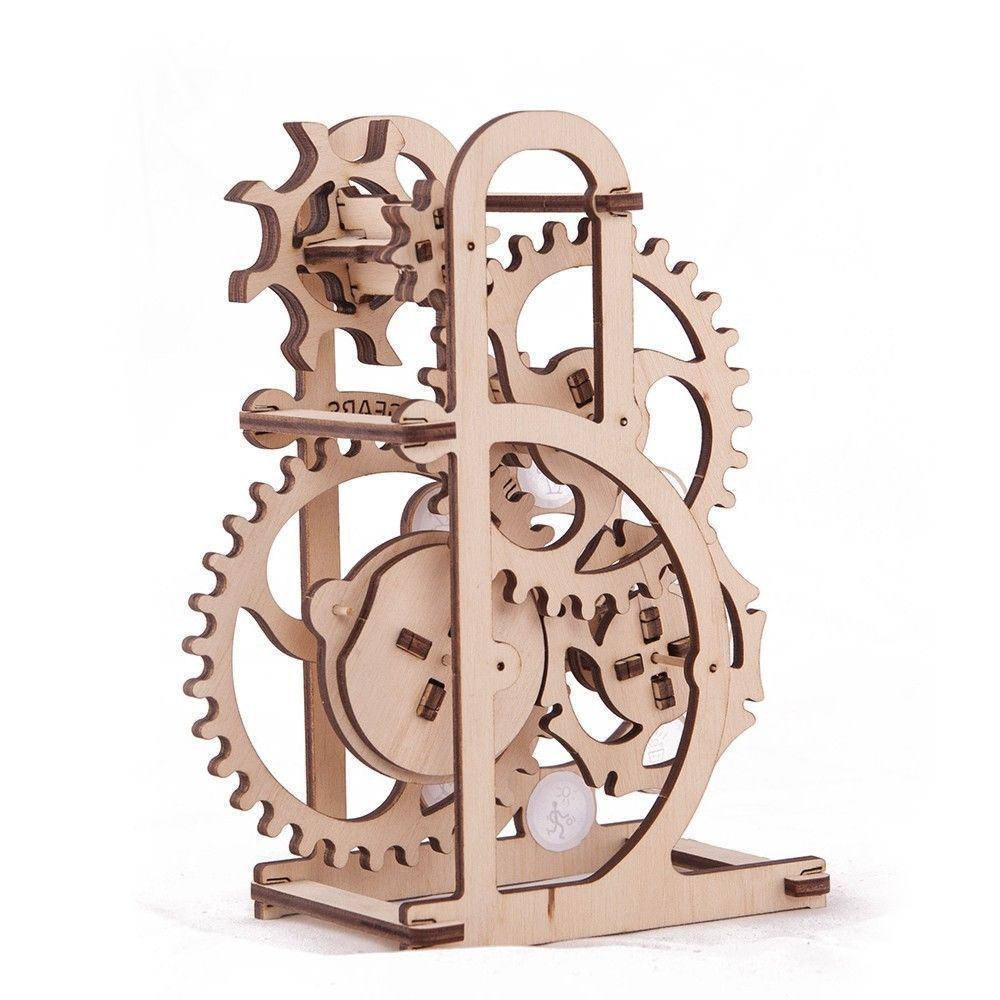 Details About Ugears Dynamometer Safe Mechanical Wooden Self